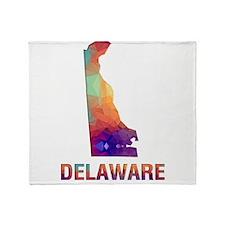 Cute Delaware Throw Blanket
