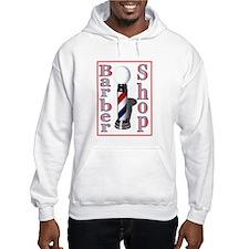 Barber Shop Logo Jumper Hoody