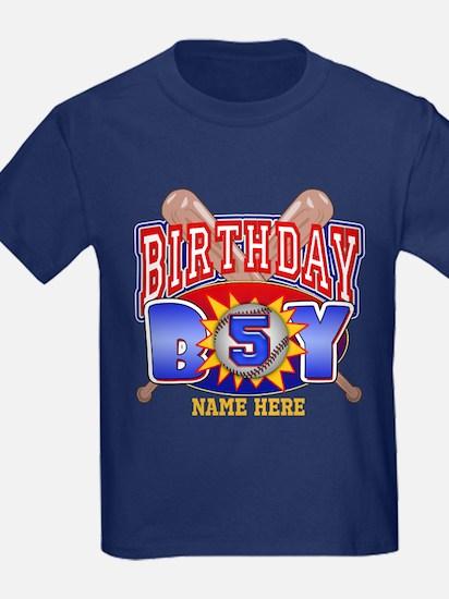 Baseball 5th Birthday T