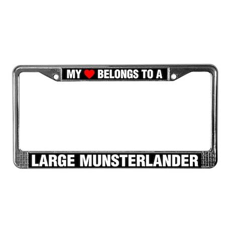 My Heart Belongs To A Large Munsterlander