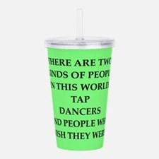 tap dancer Acrylic Double-wall Tumbler