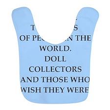 doll collector Bib
