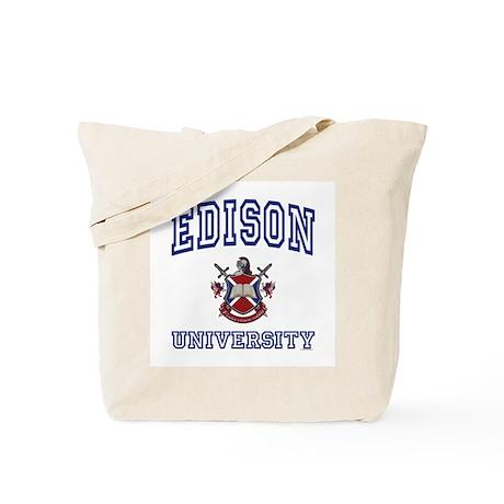 EDISON University Tote Bag