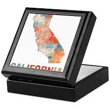 Cute Geography Keepsake Box