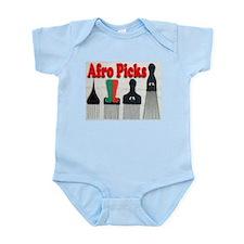 Afro Picks Infant Bodysuit