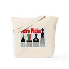 Afro Picks Tote Bag