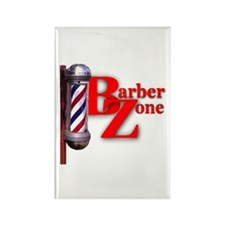 Barber Zone Rectangle Magnet