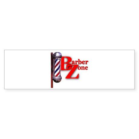 Barber Zone Bumper Sticker
