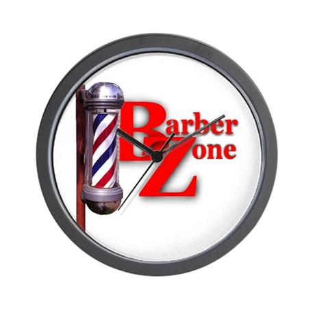 Barber Zone Wall Clock