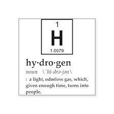 Definition of Hydrogen Sticker