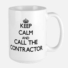 Keep calm and call the Contractor Mugs