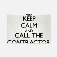 Keep calm and call the Contractor Magnets