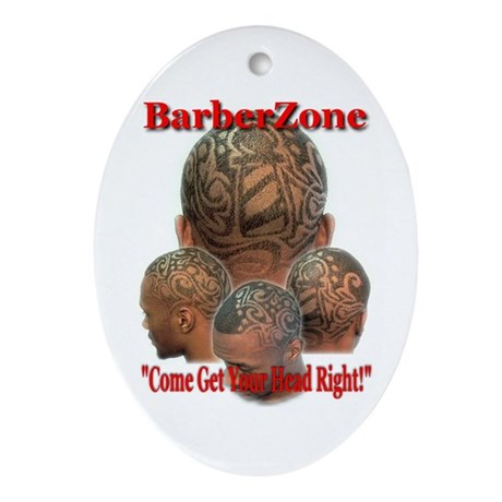 Come Get Your Head Right Oval Ornament