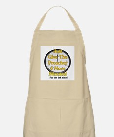 give me 5 more minutes BBQ Apron