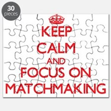 Funny Keep calm and Puzzle