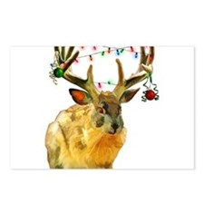 Funny Christmas texas Postcards (Package of 8)