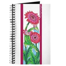 Unique Gerbera daisy Journal