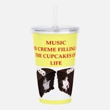 music Acrylic Double-wall Tumbler