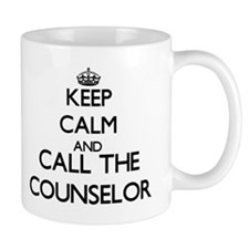 Keep calm and call the Counselor Mugs