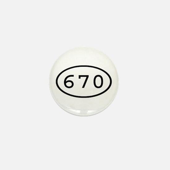 670 Oval Mini Button