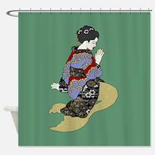 More Tsunami Tales Shower Curtain