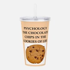 PSYCHOLOGY.png Acrylic Double-wall Tumbler