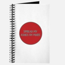 SPREAD MY ASHES ON MARS Journal