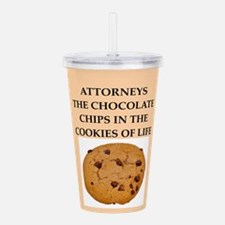 attorney Acrylic Double-wall Tumbler
