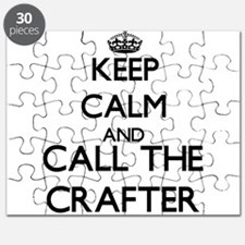 Funny Scrapbooking keep calm Puzzle