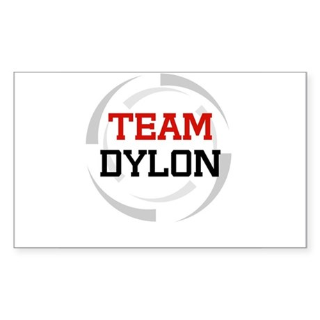 Dylon Rectangle Sticker