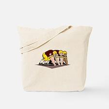 Football Linemen Tote Bag