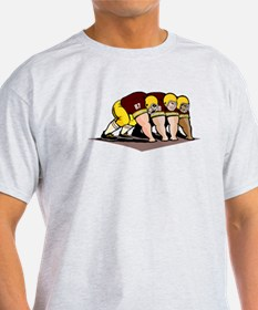 Football Linemen T-Shirt