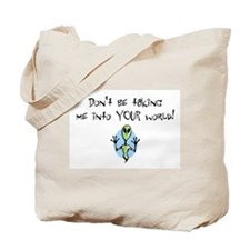 Your World Alien Tote Bag