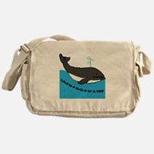A Whale Of A Time Messenger Bag