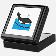 A Whale Of A Time Keepsake Box