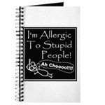 Allergic to Stupid People Journal
