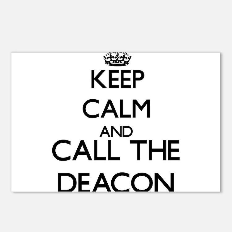 Cute Deacon Postcards (Package of 8)