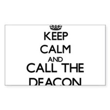 Keep calm and call the Deacon Decal