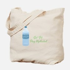 Get Fit Stay Hydrated Tote Bag