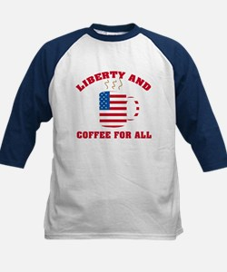 Liberty & Coffee For All Tee