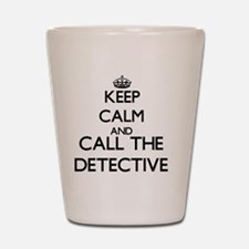Cute Detective Shot Glass