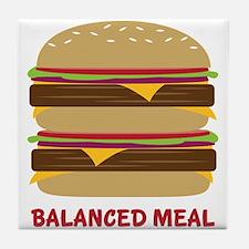 Balanced Meal Tile Coaster