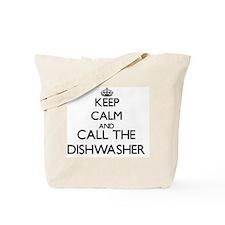 Keep calm and call the Dishwasher Tote Bag