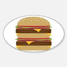 Double Burger Decal