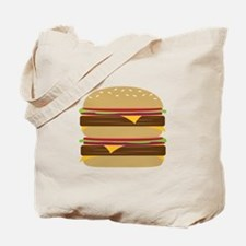 Double Burger Tote Bag