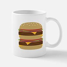 Double Burger Mugs