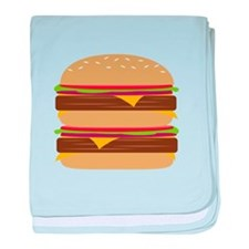 Double Burger baby blanket