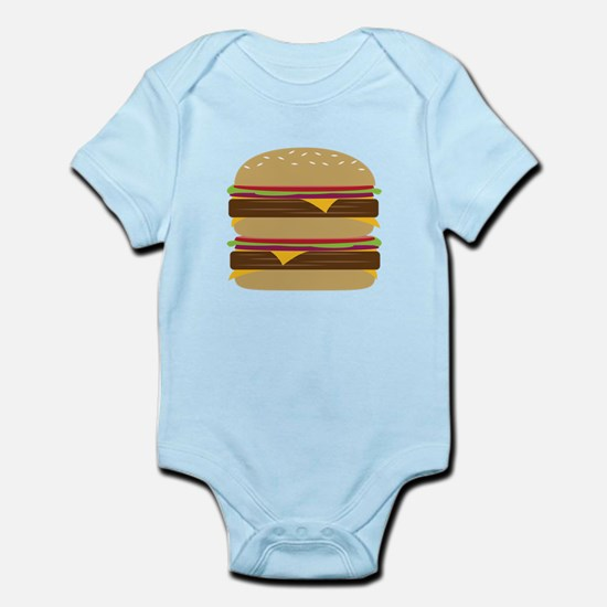 Double Burger Body Suit