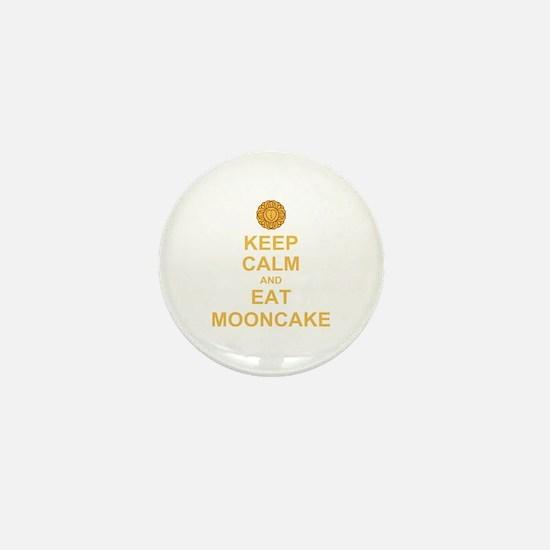 Keep Calm mooncake Mini Button
