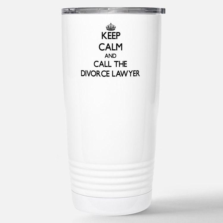 Cute Divorce lawyer Travel Mug